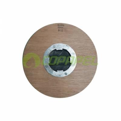 SUPORTE DISCO C-4/410MM COM FLANGE E VELCRO