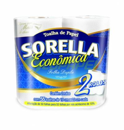 PAPEL TOALHA SORELLA ECONÔMICO