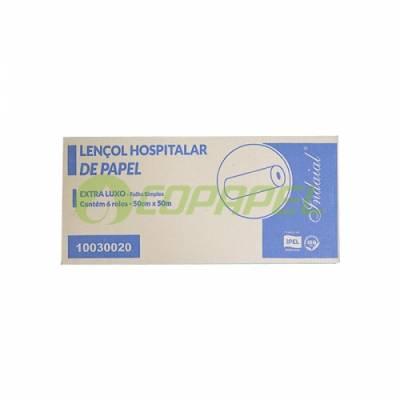 LENÇOL HOSPITALAR INDAIAL 50CM