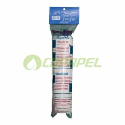 REFIL MOP ÚMIDO 190G ALGODÃO - SUPER MOP TORCE/LIMPA PROFISSIONAL