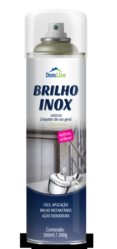 BRILHA INOX DOMLINE 200g/300ml