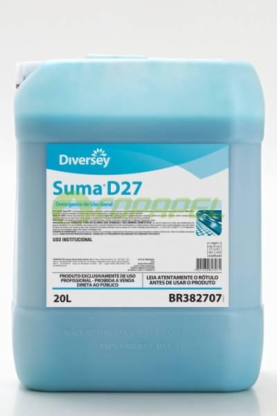 SUMA D27 - DETERGENTE LIMPEZA GERAL